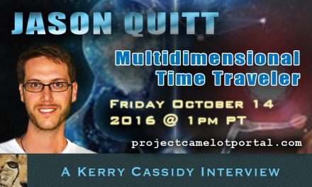 TIME TRAVELER & AUTHOR – JASON QUITT – LIVE SHOW TODAY 1PM PT