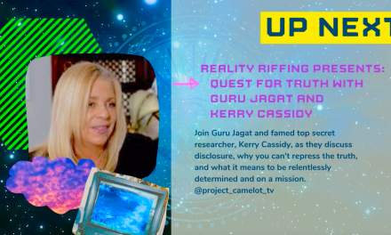 KERRY INTERVIEWED BY GURU JAGAT:  RE SECRET SPACE, HIDDEN TECH AND THE COVID DEBACLE