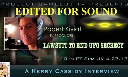 ROBERT KIVIAT:  PRODUCER SUES CIA FRONT ORG FOR UFO DISCLOSURE