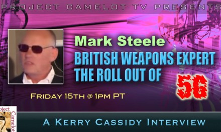 MARK STEELE:  BRITISH WEAPONS EXPERT : RE THE ROLLOUT OF 5G