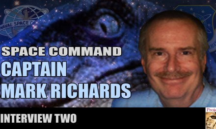MARK RICHARDS:  SPACE COMMAND INTERVIEW TWO
