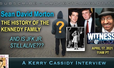 SEAN DAVID MORTON:  KENNEDY FAMILY & JFK JR.
