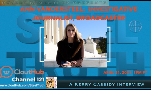 ANN VANDERSTEEL:  INVESTIGATIVE JOURNALIST – INTERVIEW