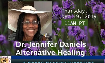 DR. JENNIFER DANIELS : ALTERNATIVE HEALING