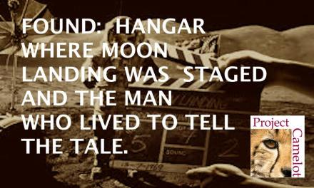 UPDATED:  FOUND. HANGAR WHERE MOON LANDING WAS STAGED…