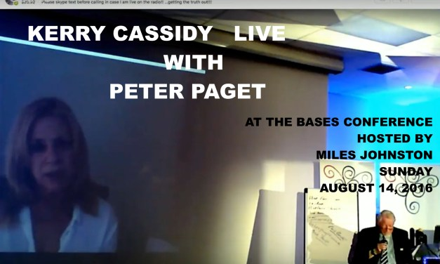 KERRY LIVE AT BASES CONFERENCE WITH PETER PAGET