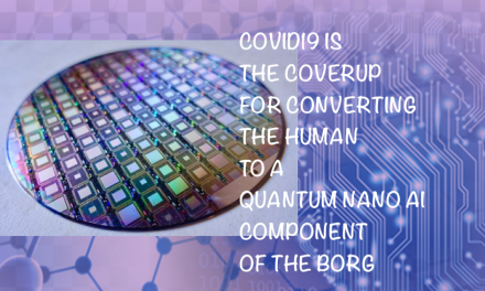 COVID IS THE CON COVERING NANO-AI CONVERTING YOUR CELLS