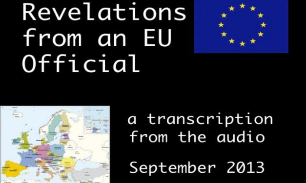 Revelations of an EU Official 2
