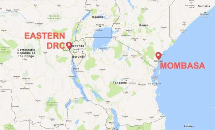 Mombasa to DRC