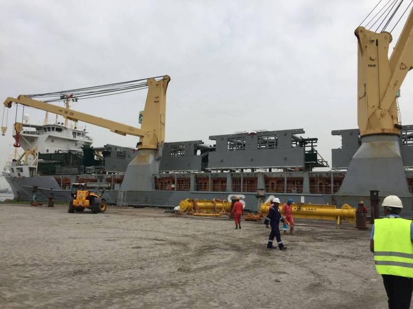 MV Paula - Lagos - Riser Porch