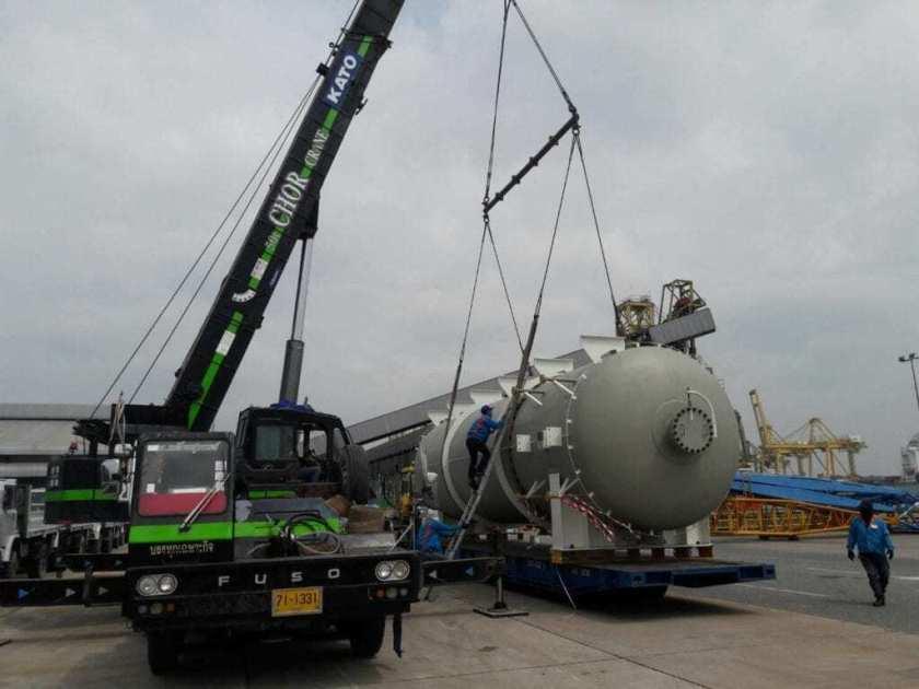 CU Logistics breakbulk