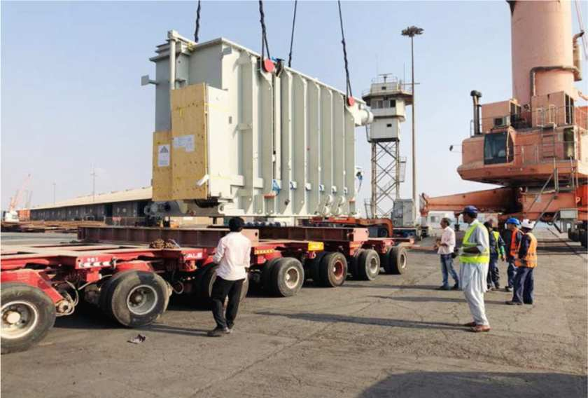 Siemens Royal Commission, Yanbu Transformer
