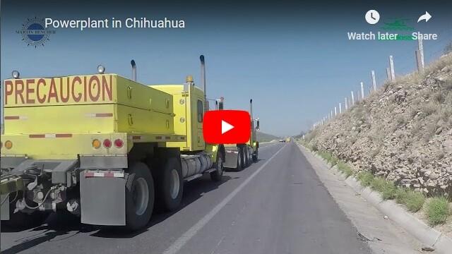 Powerplant in Chihuahua
