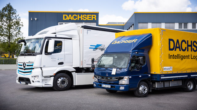 Dachser aims for emission-free deliveries
