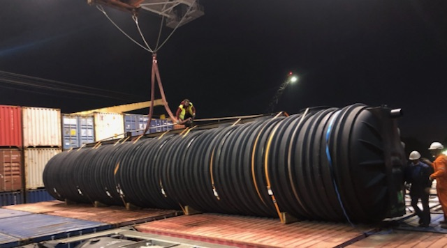 Pinto Basto completes shipment to Angola