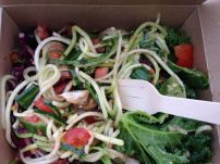 Mixed salad from the takeaway section