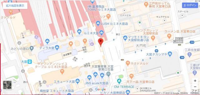 RINGO大宮店の場所