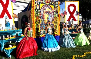 Day of the dead, hollywood forever cemetery, project dreamscape