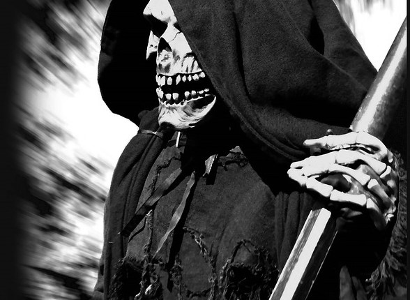 Grim reaper, death, fear of death, project dreamscape