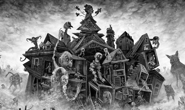 Madhouse, Brad C. Hodson, Art, Project dreamscape