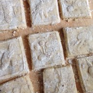 Springerles before baking