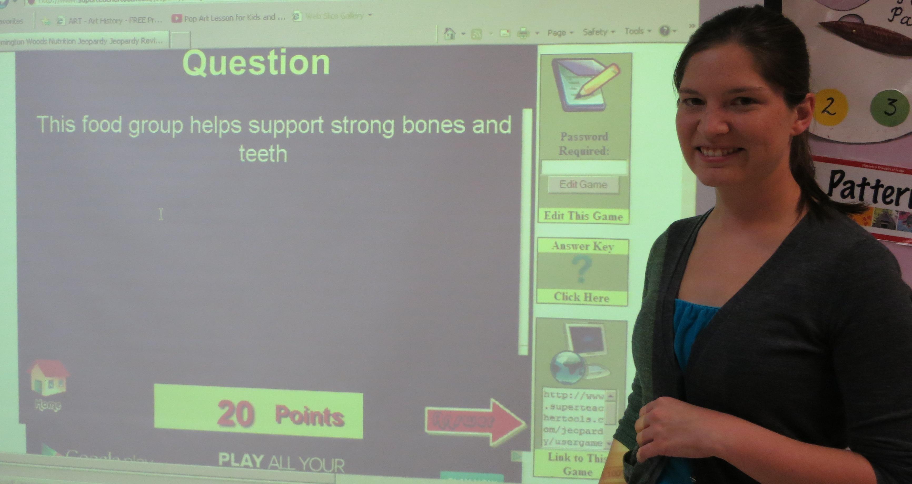 Nutrition Jeopardy Elementary Blog Dandk
