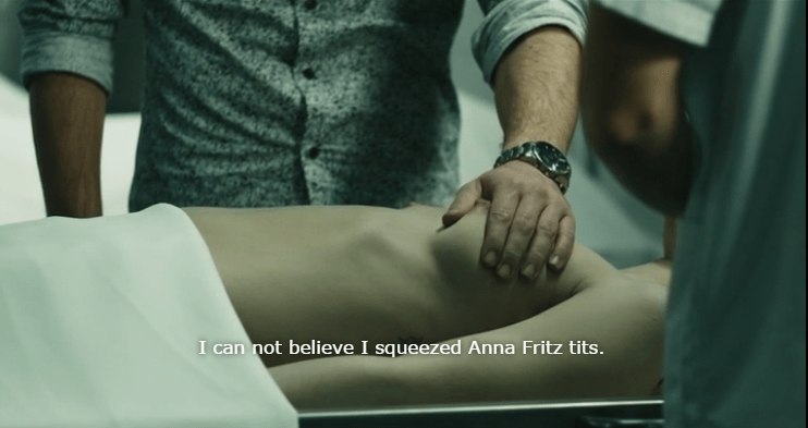 The Corpse of Anna Fritz (2015) - Projected Figures