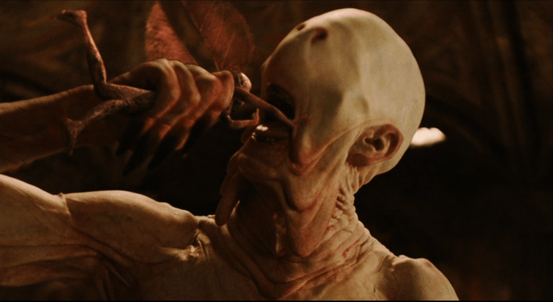 pans labyrinth analysis The pale man is the iconic secondary antagonist (although he only appeared in one scene) of the 2006 fantasy drama film pan's labyrinth he is.