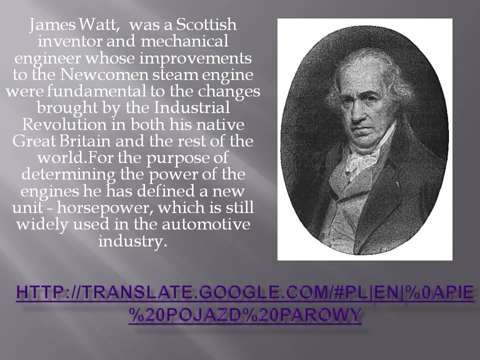 About James Watt Marcin Eureka ETwinning Project