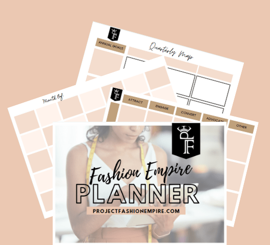 Fashion marketing planner to audit your fashion business and fashion marketing plan to get consistent sales this year in your fashion brand