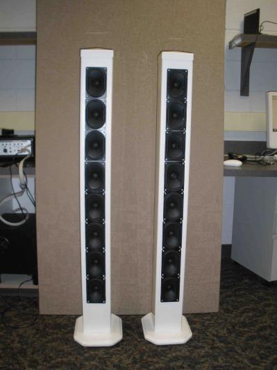 Tower Speaker Enclosures