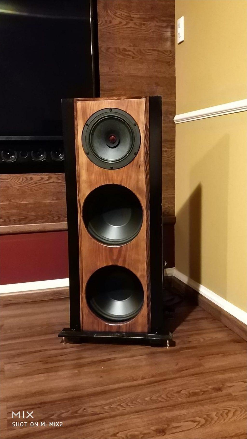 Two Speakers Speaker Stand