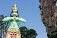 hindu statue at Batu Caves