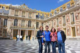 Wonderful trip to Versailles with David's cousins