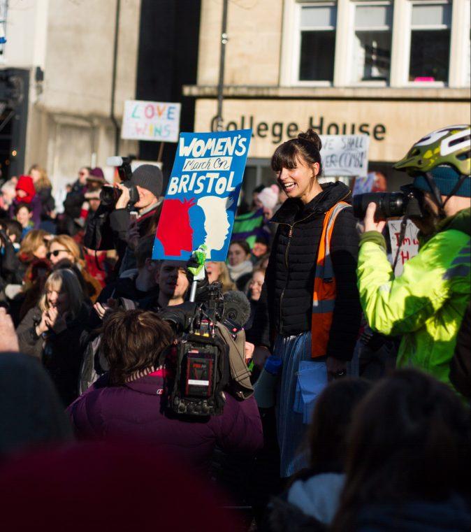 (source for Women's March on Bristol photos: Christina Dithmar Photography @ http://www.christinadithmar.smugmug.com/)