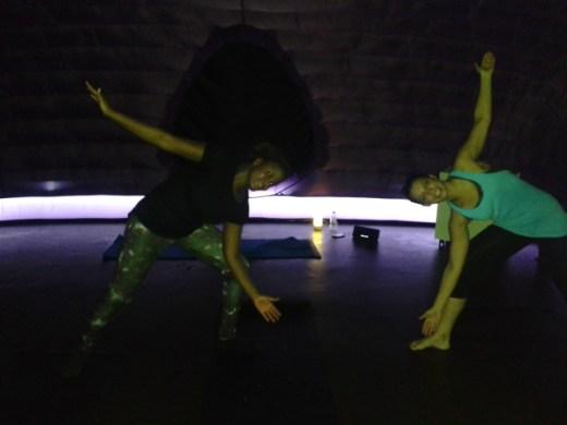 Yoga in a Hotpod!