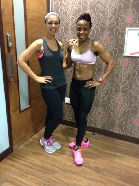 Slice Urban Fitness Studio Review Aderonke Bishop bodybuilder