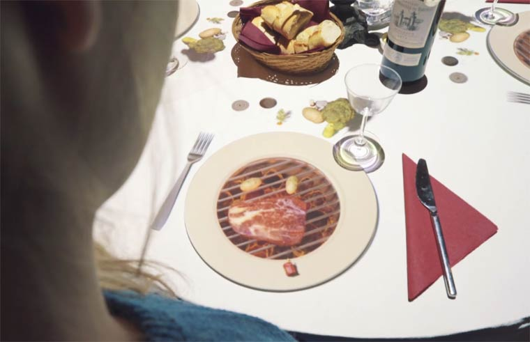 Le Petit Chef Projection Mapping on your Dinner Plate