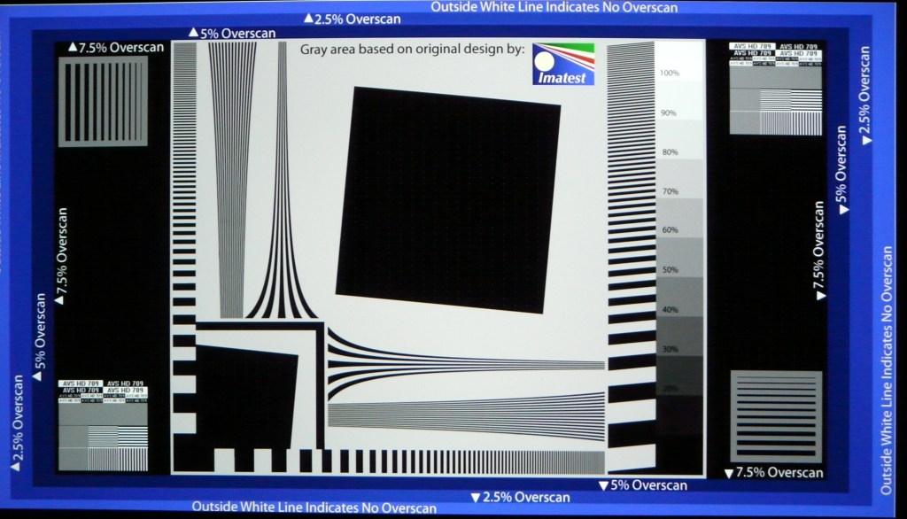 Vivitek H1188 AVSHD Pattern Sharpness 0 Vivid Peaking 0