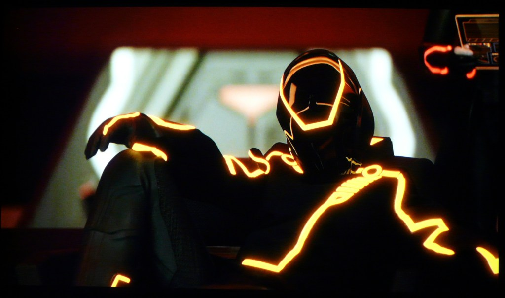 JVC X500 Screenshot Tron Legacy