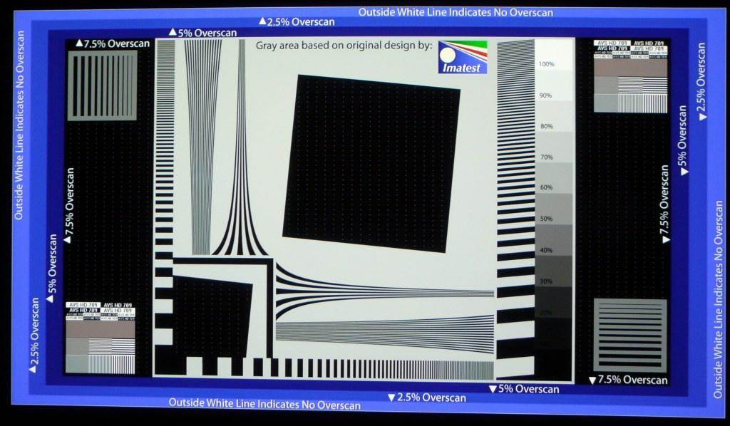 JVC X500 Sharpness MPC 0