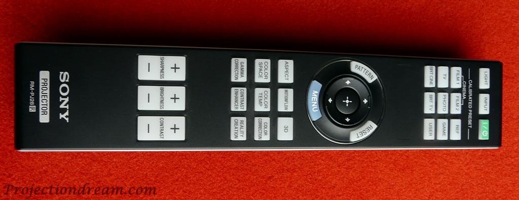 Sony VPL-HW65ES remote control