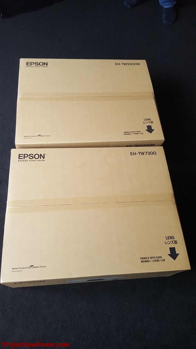 Epson EH-TW9300, EH-TW7300, EH-LS10000: The Battle