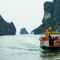ON THE WAY TO HA LONG BAY