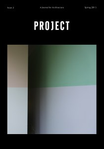 PROJECT Issue 2 Cover