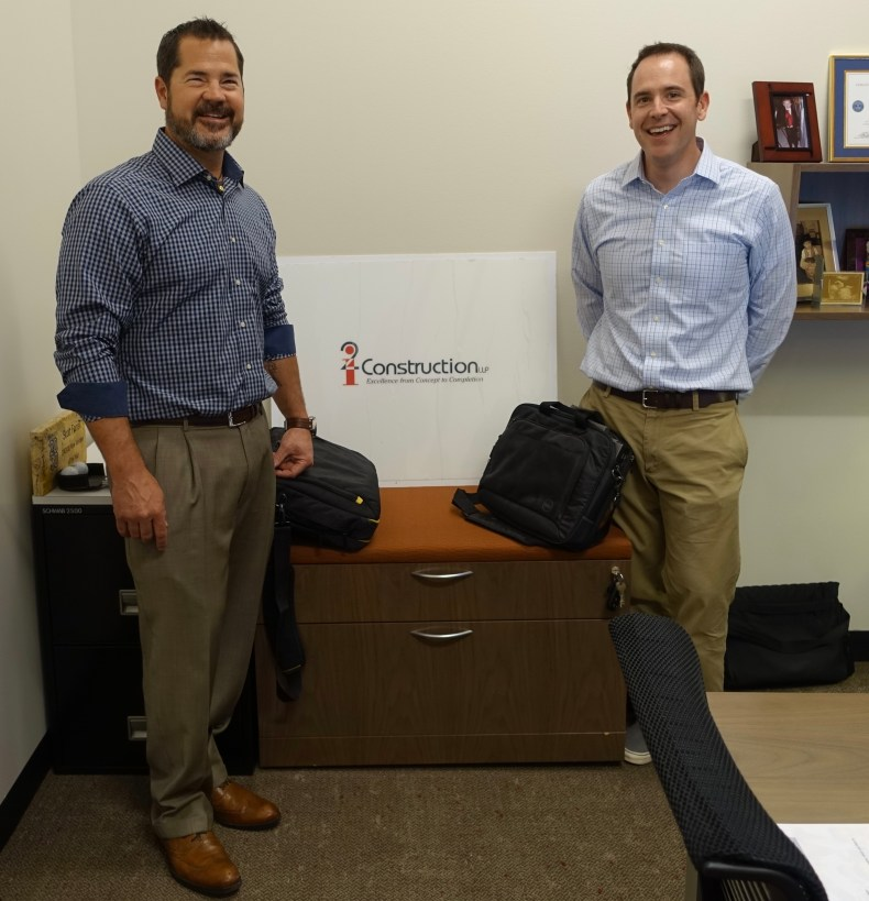 Scott Farrell and Mike Kelly from i2 Construction