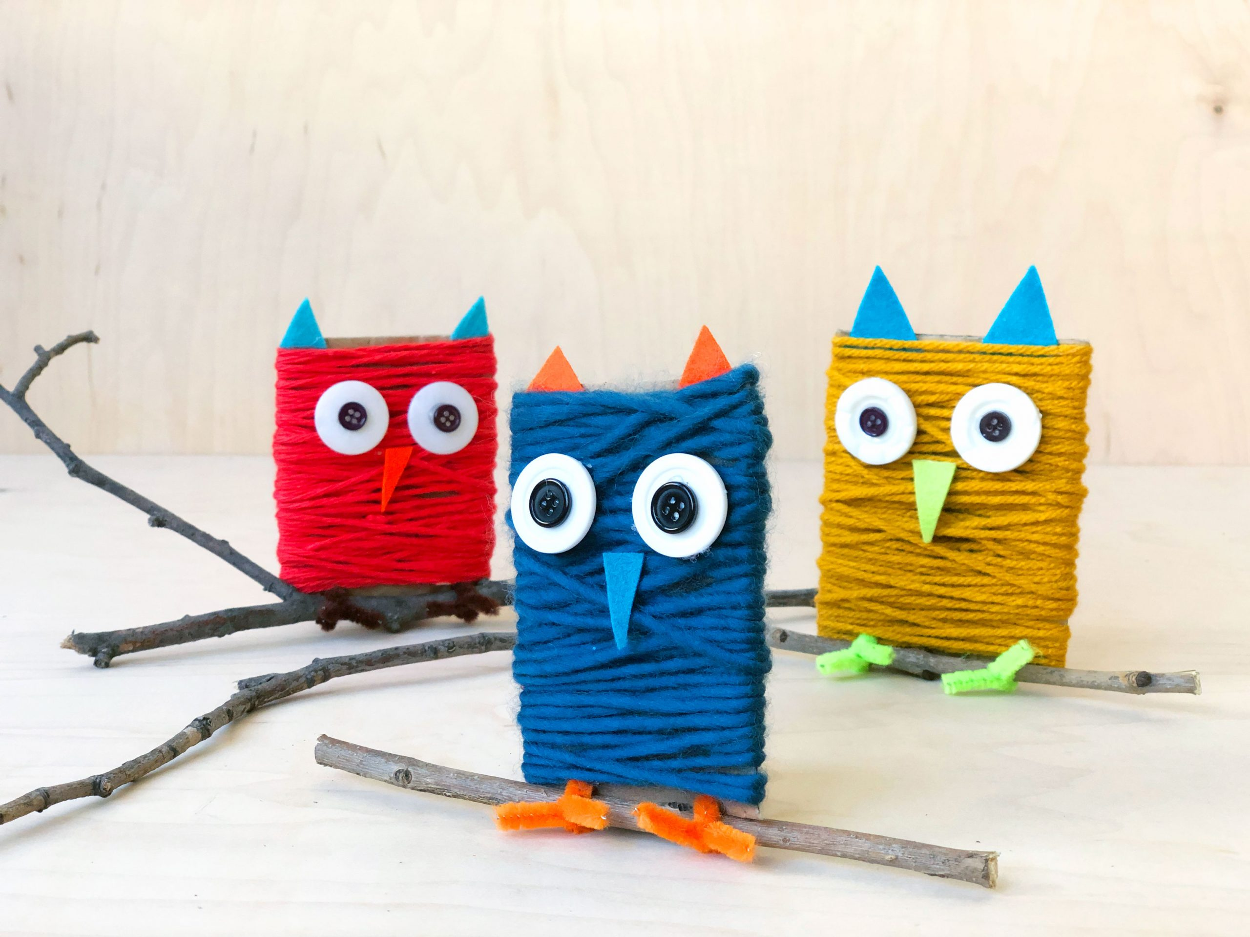 Cute And Easy Owl Craft For Kids Diy Owl Project