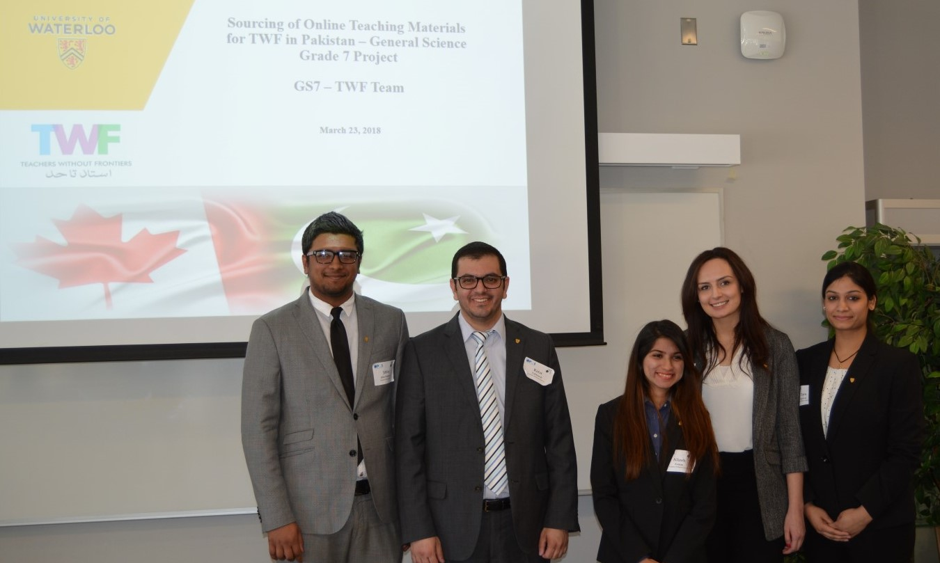 University Of Waterloo Team Winners For Teachers Without