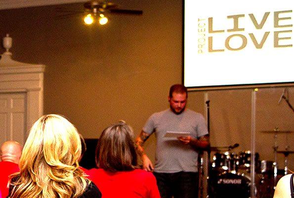 Drew Benton Speaks at Cornerstone Gathering