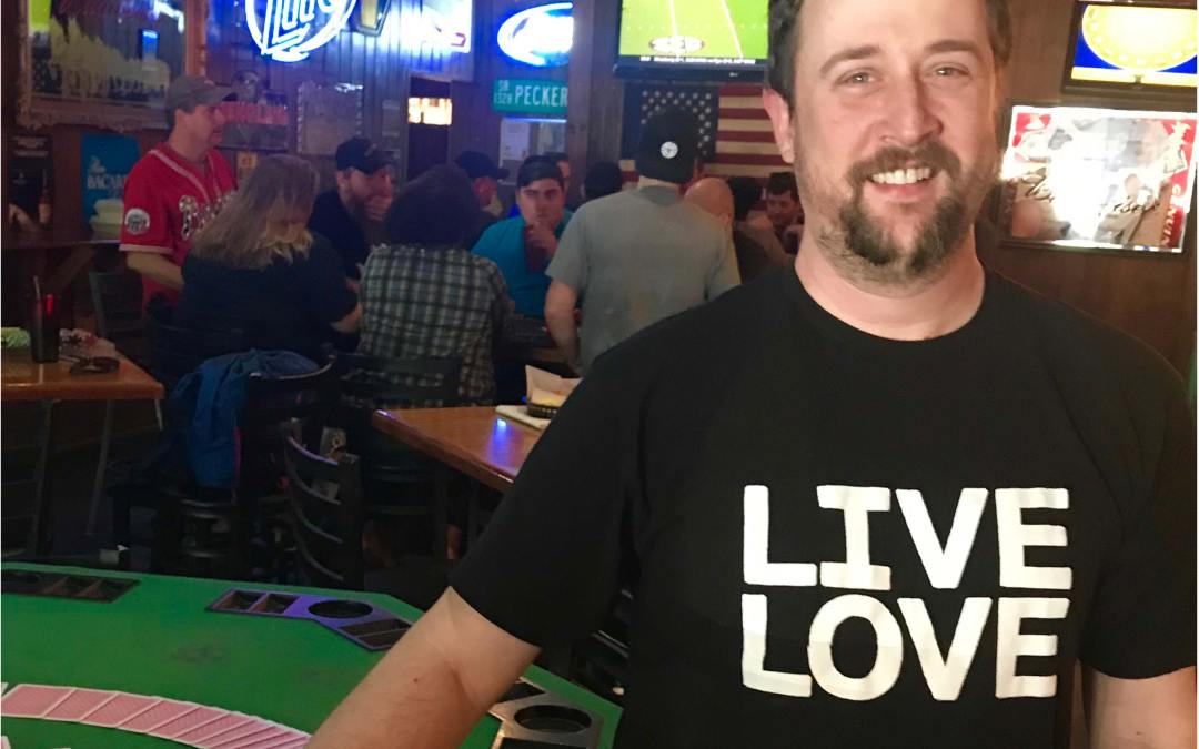 LIVE LOVE POKER TOURNAMENT-APRIL 21, 2018